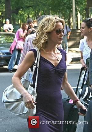 Felicity Huffman arriving at her hotel in Manhatten New York City, USA - 15.05.07