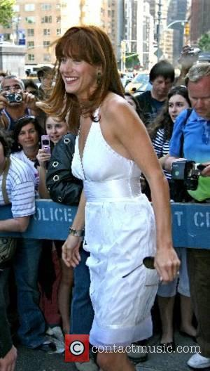 Kate Walsh leaving her hotel in Manhatten New York City, USA - 15.05.07