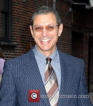 Jeff Goldblum and David Letterman