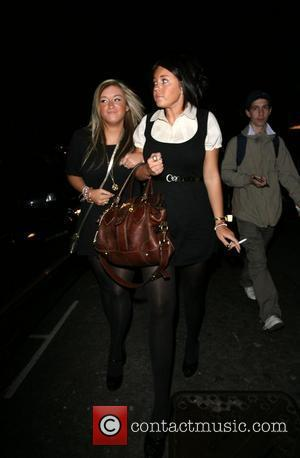 Lacey Turner and a friend leaving the Embassy club London, England - 29.09.07