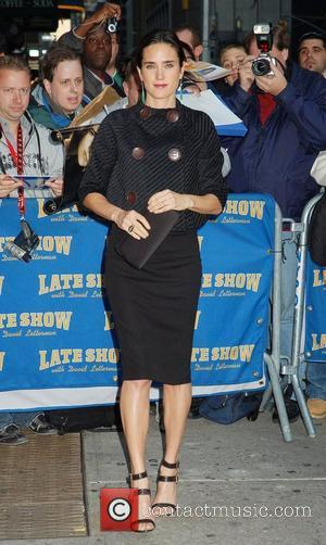 Jennifer Connelly and David Letterman