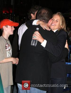 Katie Couric and Bruce Springsteen