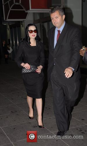 Dita Von Teese and Fox