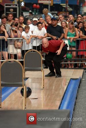 A bowling skit