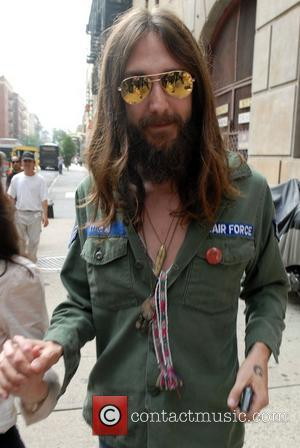 Chris Robinson outside Ed Sullivan Theatre for the 'Late Show With David Letterman' New York City, USA - 30.07.07