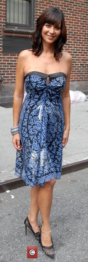 Catherine Bell outside Ed Sullivan Theatre for the 'Late Show With David Letterman' New York City, USA - 30.07.07