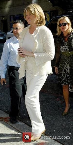 Martha Stewart and David Letterman