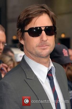 Luke Wilson outside Ed Sullivan Theatre for the 'Late Show With David Letterman' New York City, USA - 17.05.07