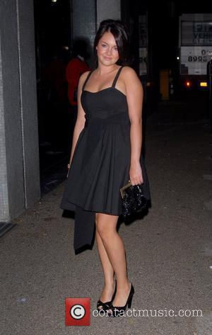 Lacey Turner 'An Audience With Celine Dion' at Broadcasting House - Arrivals London, England - 30.10.07