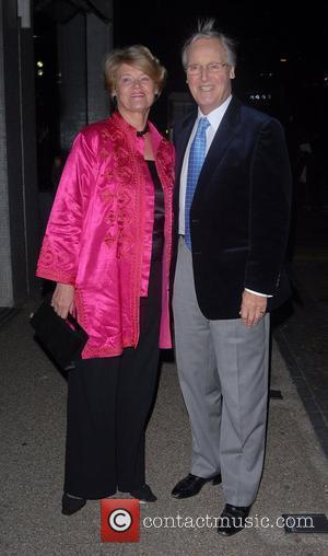 Nicholas Parsons and Celine Dion