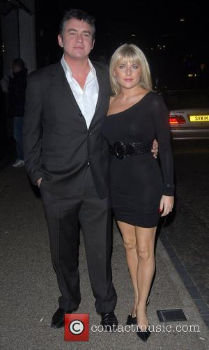 Shane Richie and guest 'An Audience With Celine Dion' at Broadcasting House - Arrivals London, England - 30.10.07