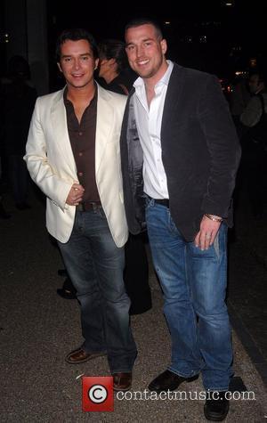 Stephen Gately and Celine Dion