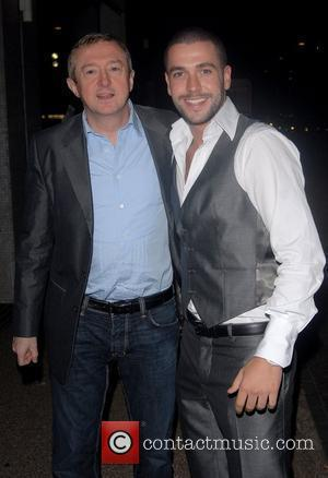 Louis Walsh and Celine Dion