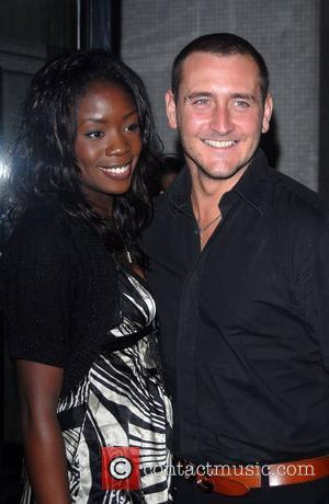 Will Mellor and guest 'An Audience With Celine Dion' at Broadcasting House - Arrivals London, England - 30.10.07