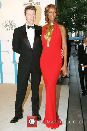 David Bowie and Iman 2007 CFDA Fashion Awards held at the New York Public Library - Arrivals New York City,...