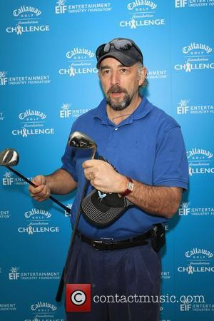 Richard Schiff Callaway Golf Foundation Tournament to benefit the Entertainment Industry Foundation's Cancer Research Programs, held at the Riviera Country...