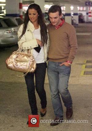 Chantelle Houghton and Samuel Preston hit The Lanes for some retail therapy Brighton, England - 21.05.07
