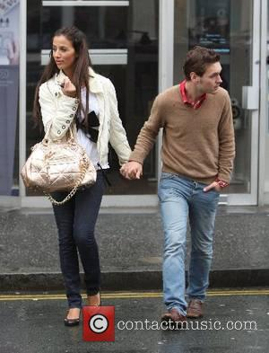 Chantelle Houghton and Samuel Preston hit The Lanes for some retail therapy Brighton, England - 21.05.07