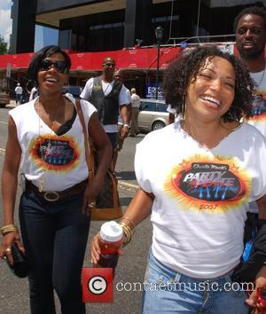Tisha Campbell and Wendy Robinson Charlie Mac Anti-Violence Celebrity Weekend Philadelphia, Pennsylvania - 14.07.07