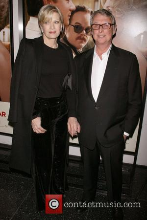 Diane Sawyer and husband Mike Nichols  'Charlie Wilson's War' premiere at the Museum of Modern Art -- Arrivals New...