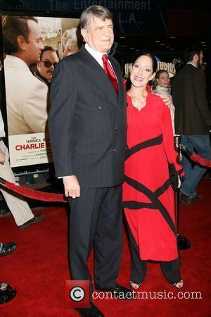 Charlie Wilson and wife World Premiere of 'Charlie Wilson's War' at Universal Citywalk Cinemas in Universal City Los Angeles, California...