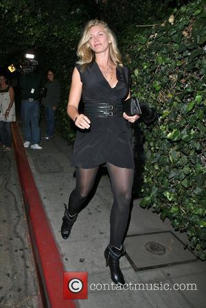 Natasha Henstridge leaving Chateau Marmont Los Angeles, California - 19.10.07