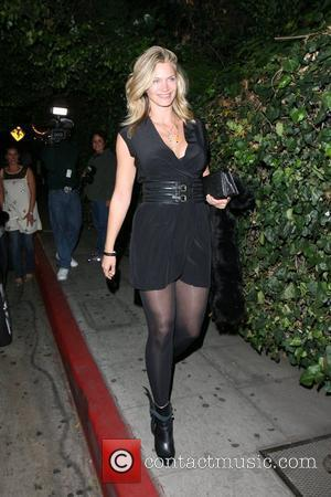 Natasha Henstridge leaving Chateau Marmont Los Angeles, California - 19.10.07