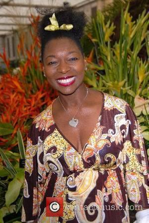 Floella Benjamin Chelsea Flower Show - press & VIP preview day at the Royal Hospital, Chelsea London, England - 21.05.07