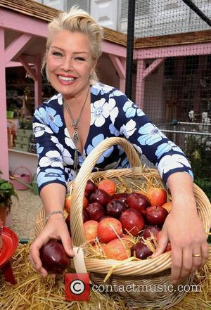 Kim Wilde at Chelsea Flower Show