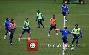 Michael Ballack, Frank Lampard, Shaun Wright-Phillips, Ashley Cole, Saloman Kalou, Joe Cole and Paulo Ferreira  Chelsea Football Club endure...