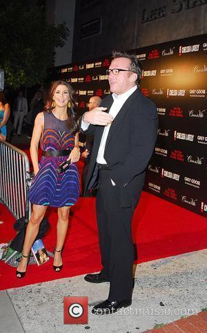 Samantha Harris and Tom Arnold