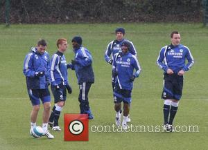 Frank Lampard, Ashley Cole, John Terry, Shaun Wright-phillips and Wayne Bridge