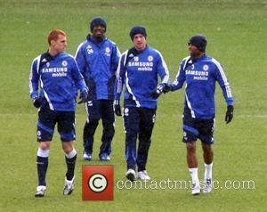 Steve Sidwell, Ashley Cole, Shaun Wright-phillips and Wayne Bridge