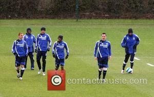 Steve Sidwell, Ashley Cole, John Terry, Shaun Wright-phillips and Wayne Bridge