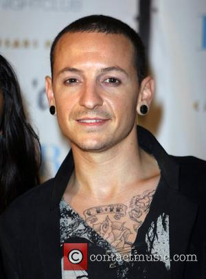 Chester Bennington attends fashion centre stage event at Pure Nightclub, Caesars Palace, Las Vegas Nevada, USA - 27.08.07