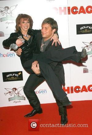 Bonnie Langford and Duncan James Chicago - 10th anniversary - Aftershow London, England - 05.12.07