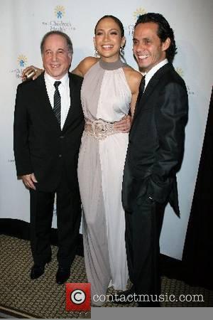 Paul Simon, Jennifer Lopez, Marc Anthony Childrens Health Fund 20th Anniversary Gala held at the Hilton - Arrivals New York...