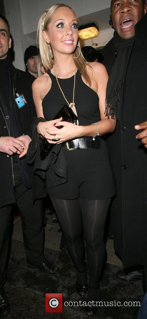 Charlotte Mears leaving Chinawhites nightclub at 2.00am. London, England - 07.02.08