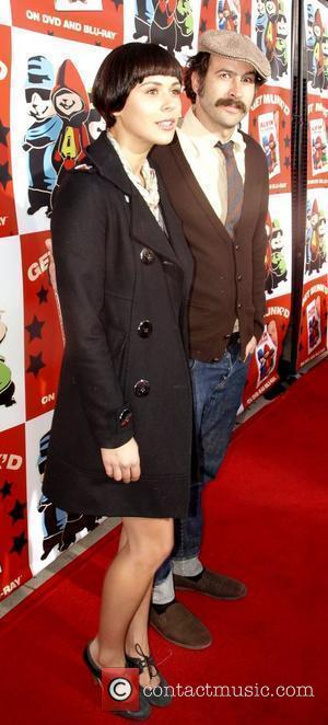 Jason Lee and friend attend the Dvd Release party for the film Alvin and the Chipmunks, held at El Rey...