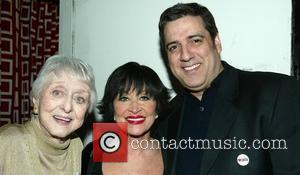 Celeste Holm, Chita Rivera and Frank Basile.  Chita Loves Broadway Cares benefit concert starring Chita Rivera, to support Broadway...