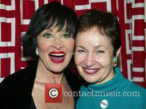 Chita Rivera and Lynn Ahrens.  Chita Loves Broadway Cares benefit concert starring Chita Rivera, to support Broadway Cares/Equity Fights...
