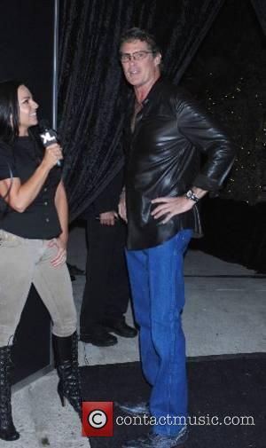 David Hasselhoff Christian Audigier birthday party held at a private residence Los Angeles, California - 25.05.07