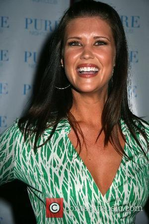 Sarah Lancaster NBC's ' Chuck ' series premiere party at PURE night club in Caesars Palace Hotel and Casino Las...