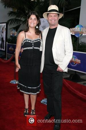 Micky Dolenz and his daughter Emily 'I Now Pronounce You Chuck & Larry' World Premiere at Gibson Amphitheatre and Citywalk...
