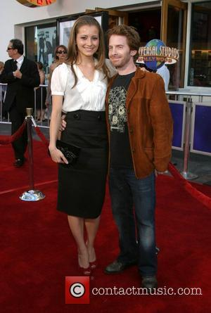 Candace Bailey and Seth Green 'I Now Pronounce You Chuck & Larry' World Premiere at the Gibson Amphitheatre and Citywalk...