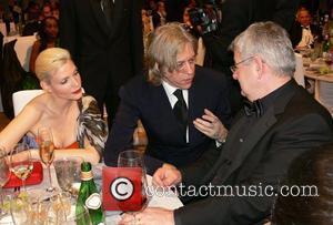Nadja Auermann, Bob Geldof, Joschka Fischer 7th annual Cinema for Peace Award and Charity gala at the Konzerthaus am Gendarmenmarkt...