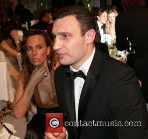 Natascha Ochsenknecht, Vitali Klitschko 7th annual Cinema for Peace Award and Charity gala at the Konzerthaus am Gendarmenmarkt - inside...