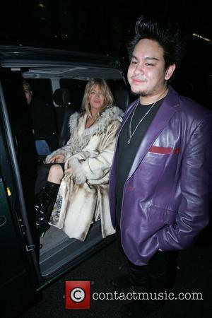 Goldie Hawn, Prince Azim The Son Of The Sultan Of Brunei's Have Dinner At Cipriani. It Is Rumoured That He Gave Her A Diamond Necklace Valued At Over £100, 000 As A Gift and Has Invited Her To A Lavish Party He Is Hosting In His London Home