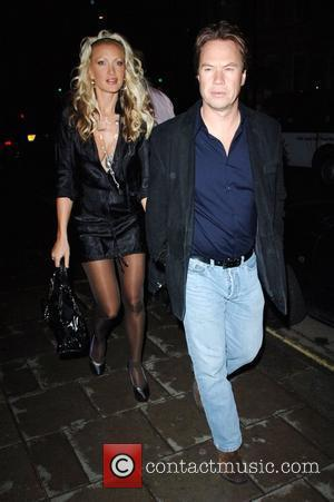 Caprice Bourret and John Hitchcox