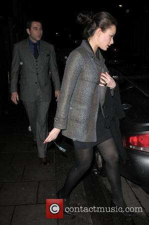 Camilla Al Fayed and David Walliams leaving Cipriani restaurant London, England - 08.03.08